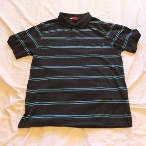 ENJOI Men's XL Striped Polo